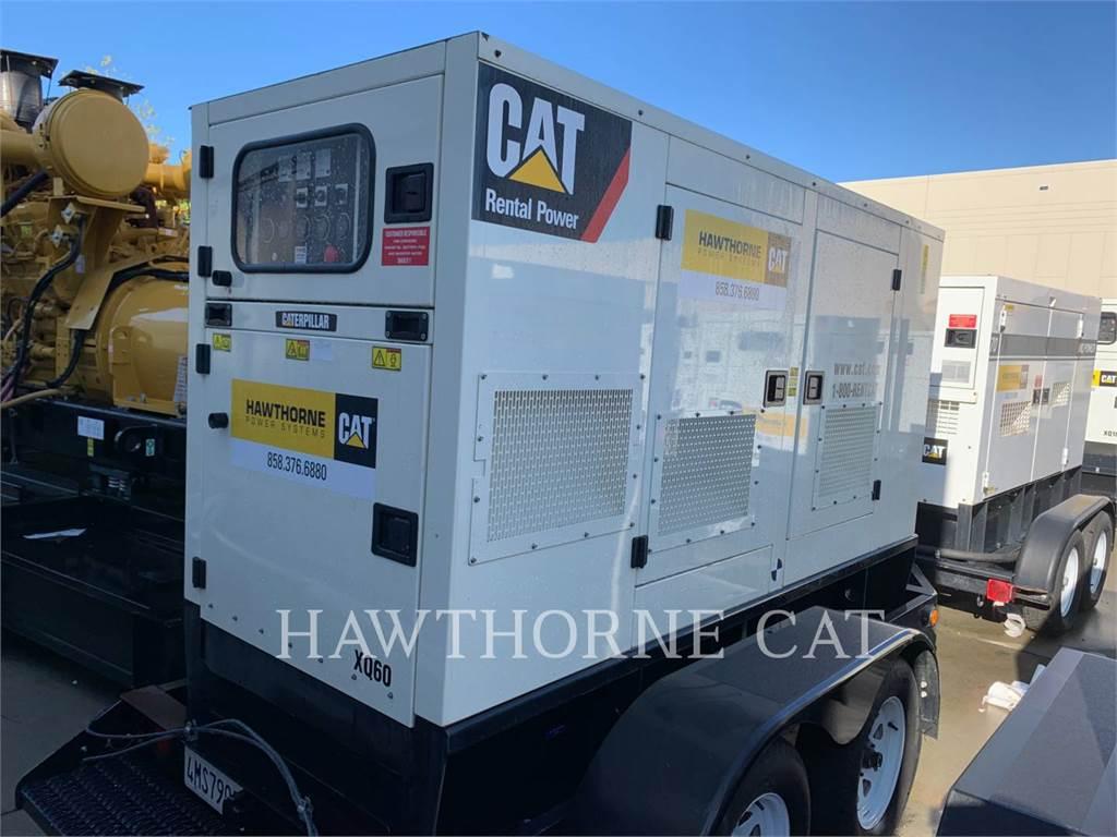 Caterpillar XQ 60, Stationary Generator Sets, Construction