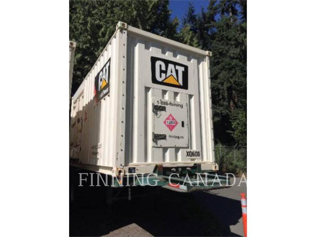 Caterpillar XQ 600, mobile generator sets, Construction