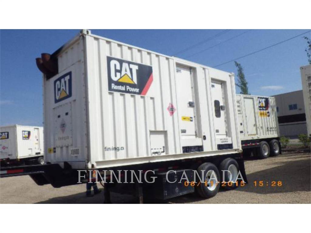 Caterpillar XQ 600, mobile generator sets, Construction