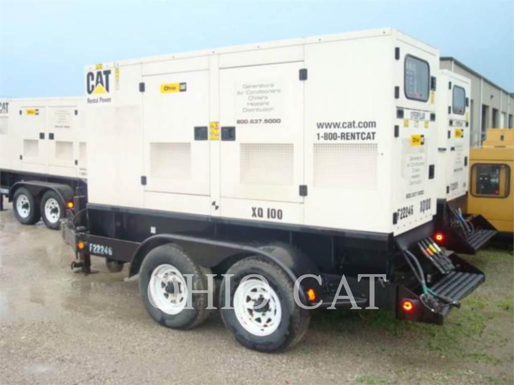 Caterpillar XQ100, Stacjonarne Zestawy Generatorów, Sprzęt budowlany