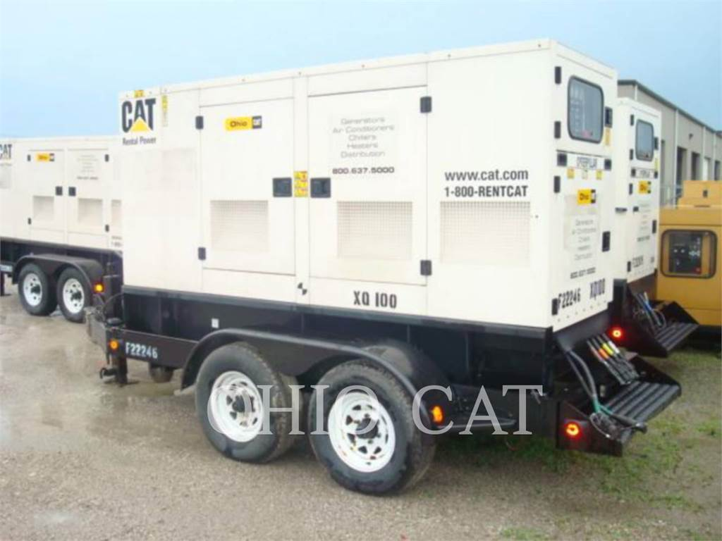 Caterpillar XQ100, Seturi de Generatoare Diesel, Constructii