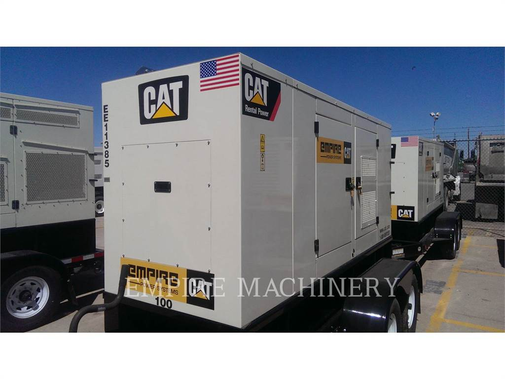 Caterpillar XQ100, Stationary Generator Sets, Construction