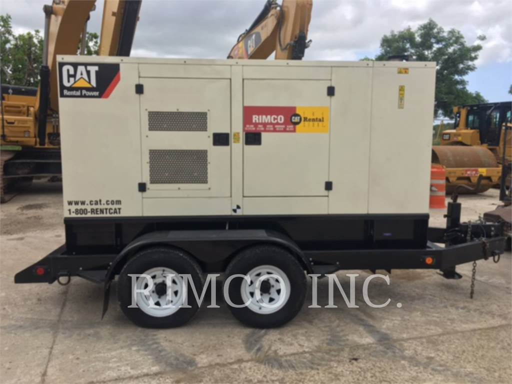 Caterpillar XQ100-6, mobile generator sets, Construction