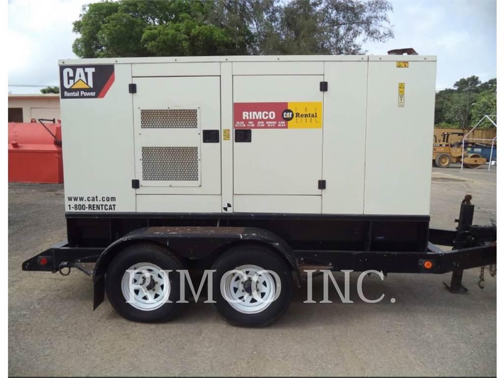 Caterpillar XQ100-6, ruchome zestawy generatorów, Sprzęt budowlany