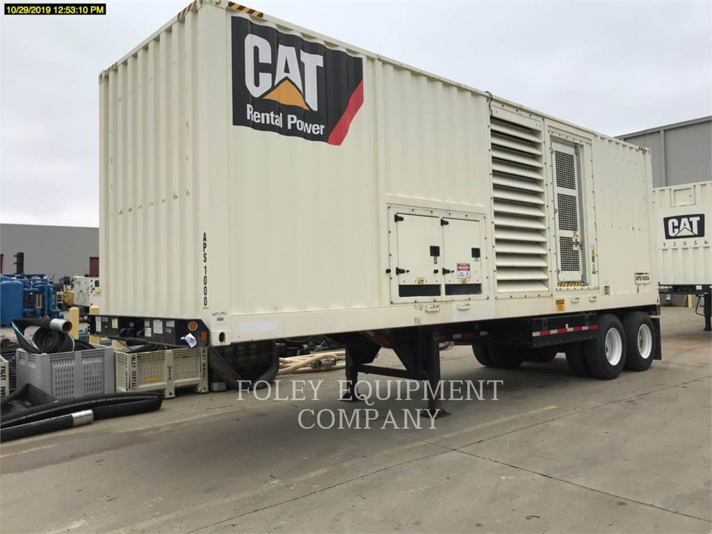 Caterpillar XQ1000APS, mobile generator sets, Construction