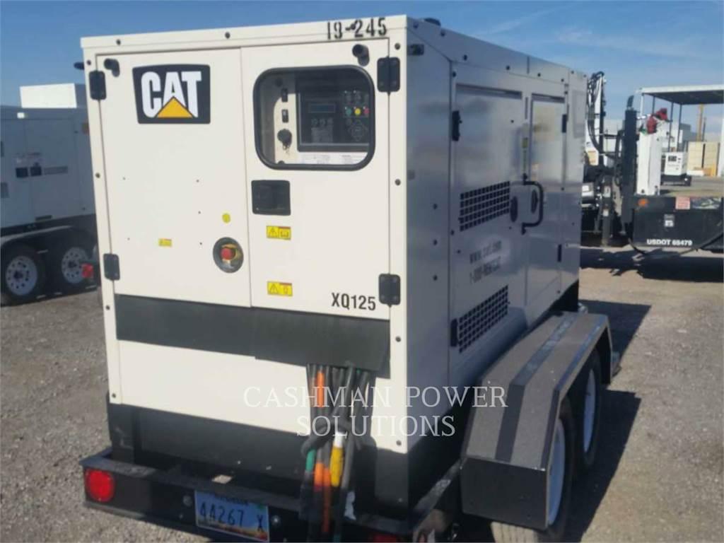 Caterpillar XQ125、租赁发电机组、建筑设备