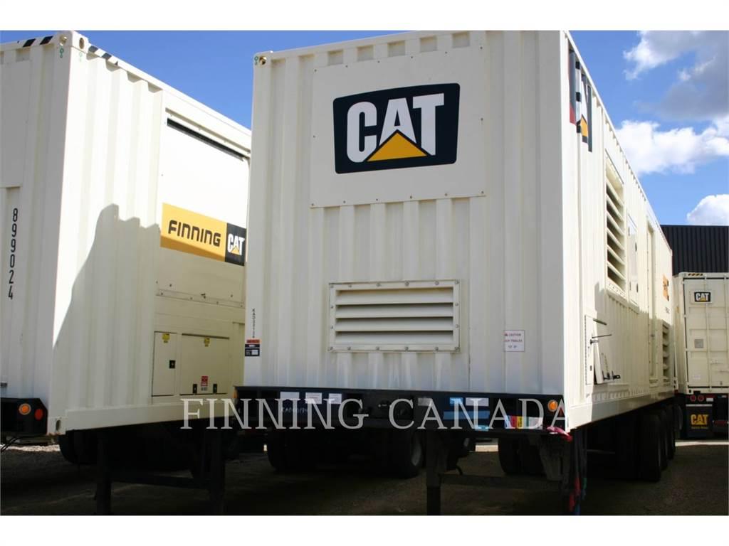 Caterpillar XQ1250G, mobile generator sets, Construction