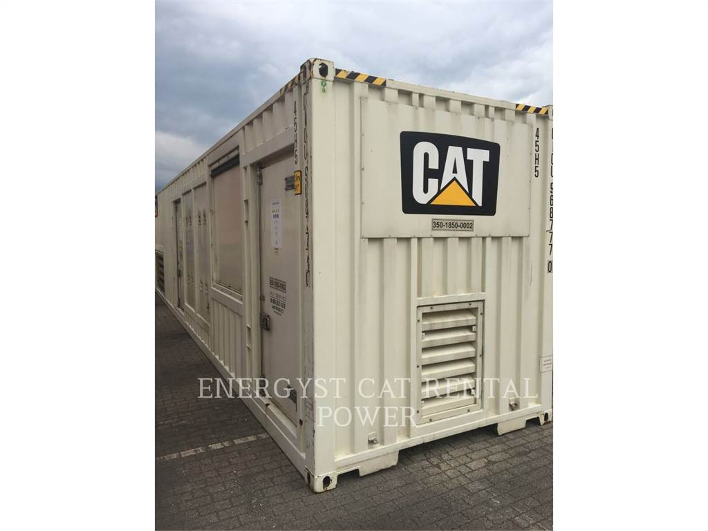 Caterpillar XQ1475G - G3516C, mobile generator sets, Construction