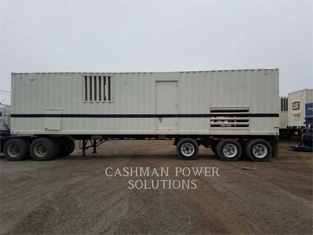 Caterpillar XQ1500, mobile generator sets, Construction