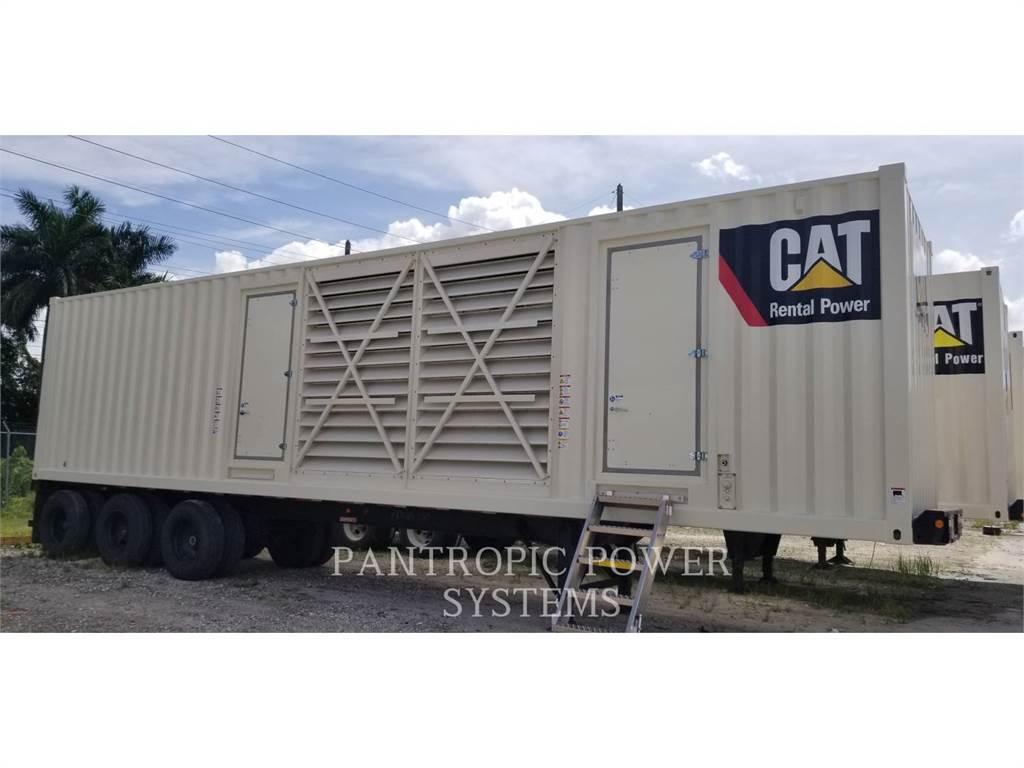 Caterpillar XQ1500 3512B GIRTZ PACKAGE, mobile generator sets, Construction
