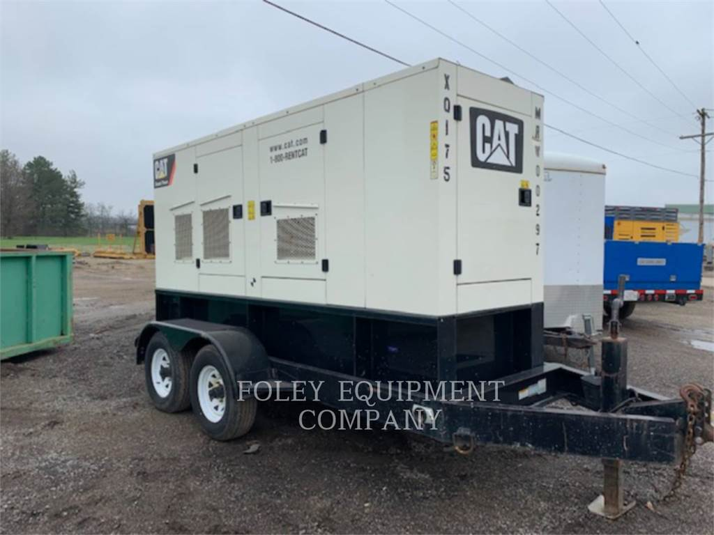 Caterpillar XQ175, mobile generator sets, Construction