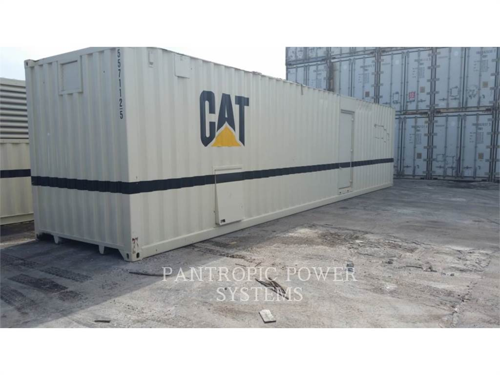 Caterpillar XQ1750, mobile generator sets, Construction