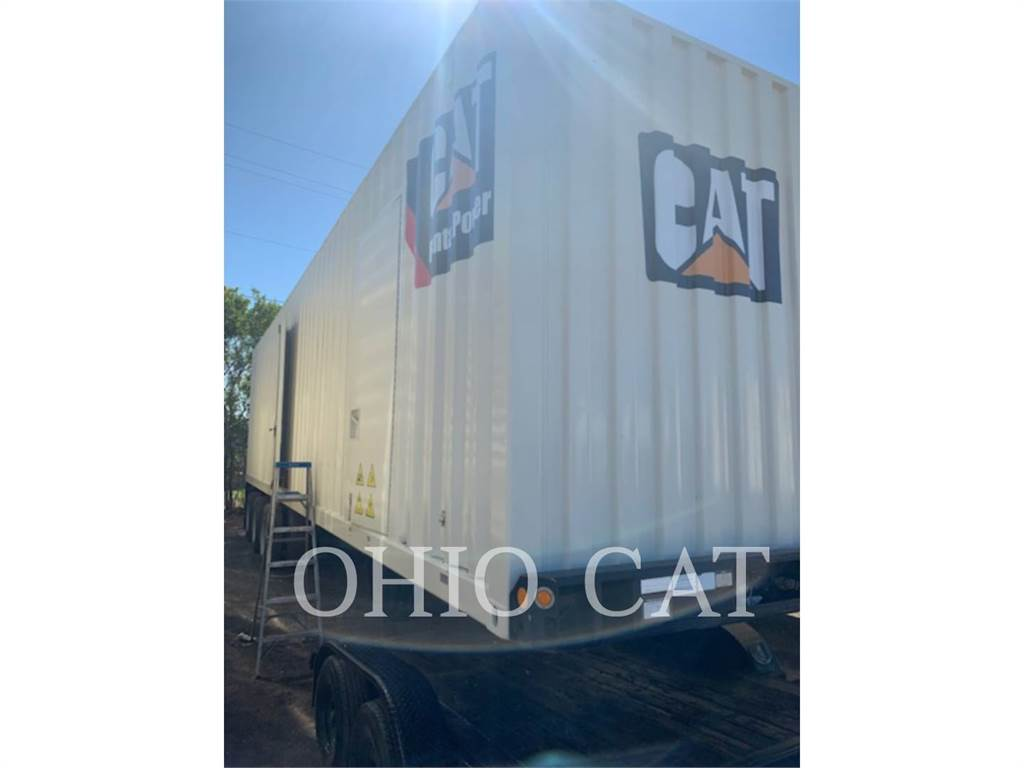Caterpillar XQ1750, Stationary Generator Sets, Construction
