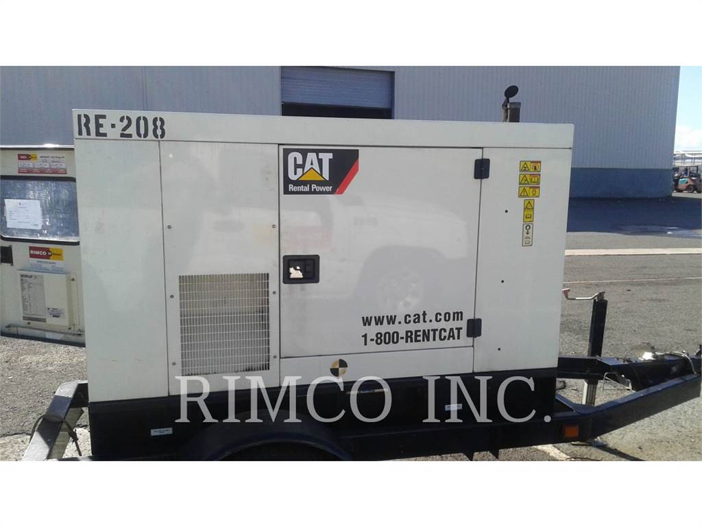 Caterpillar XQ20, mobile generator sets, Construction