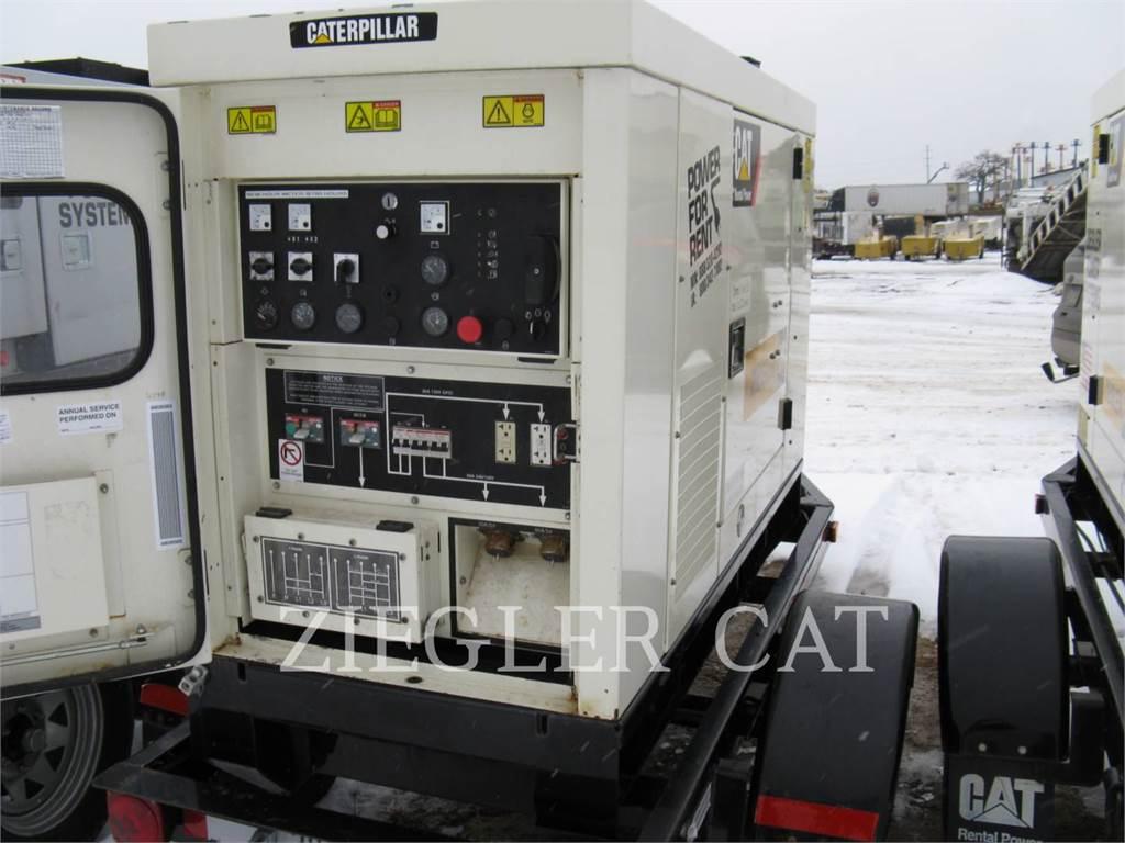 Caterpillar XQ20, Stationary Generator Sets, Construction