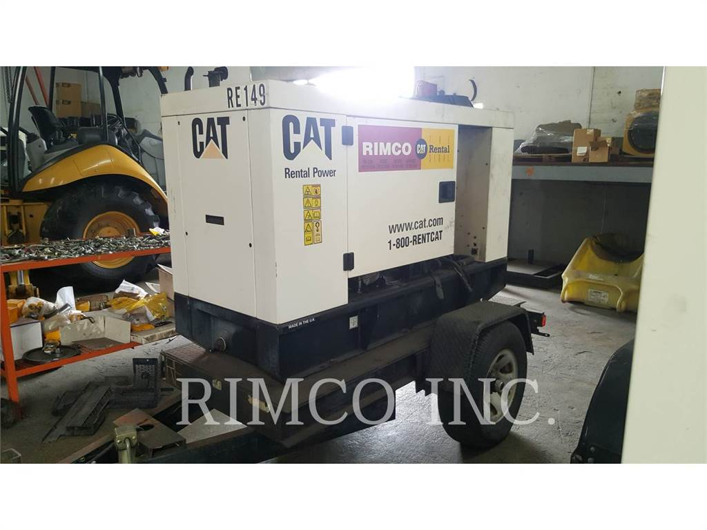 Caterpillar XQ20-2, mobile generator sets, Construction