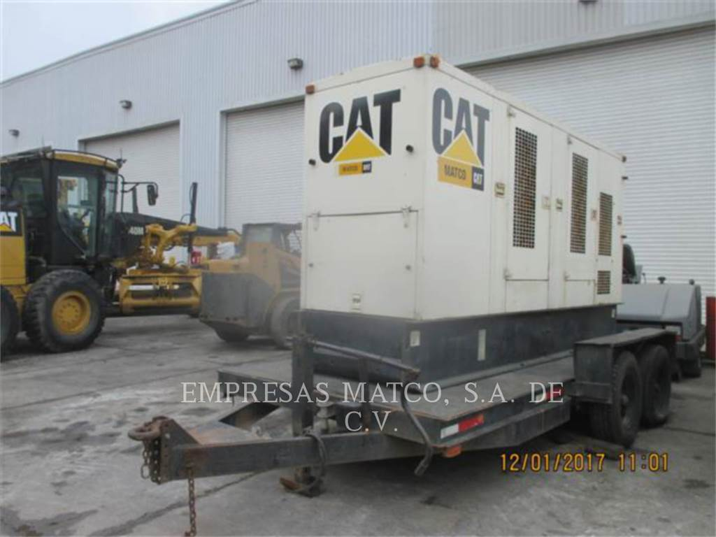 Caterpillar XQ200, mobile generator sets, Construction