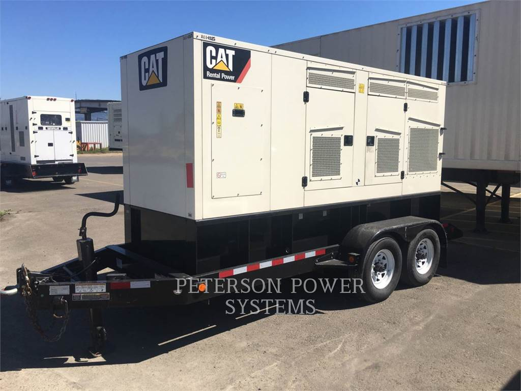 Caterpillar XQ200, Seturi de Generatoare Diesel, Constructii