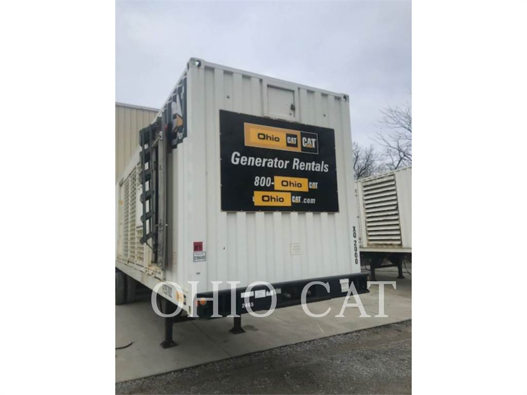 Caterpillar XQ2000, Stationäre Stromaggregate, Bau-Und Bergbauausrüstung