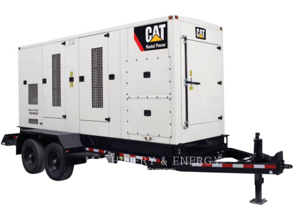 Caterpillar XQ2000, mobile generator sets, Construction