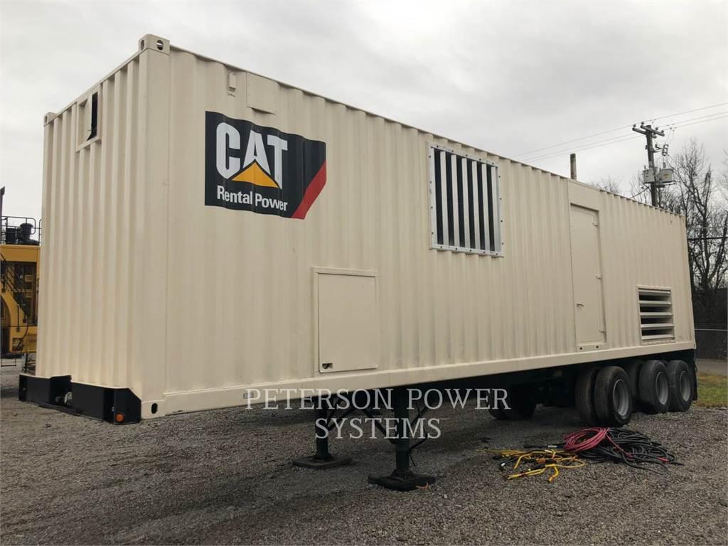 Caterpillar XQ2000, стационарные генераторные установки, Строительное
