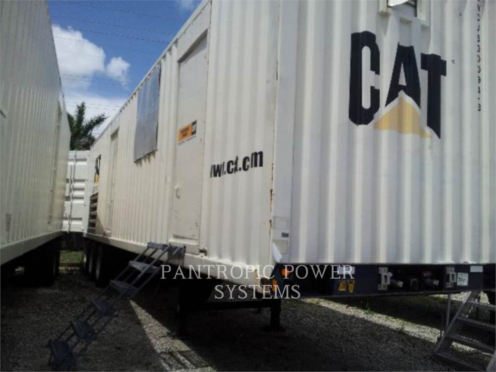Caterpillar XQ2000 3516B RECONDITIONED, mobile generator sets, Construction