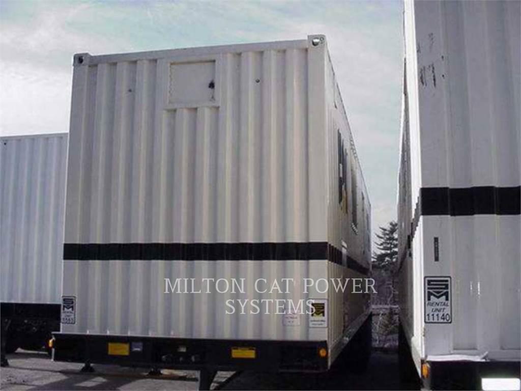 Caterpillar XQ2000B, mobile generator sets, Construction