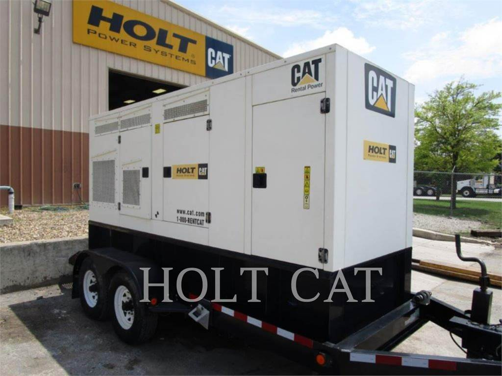 Caterpillar XQ200N, mobile generator sets, Construction