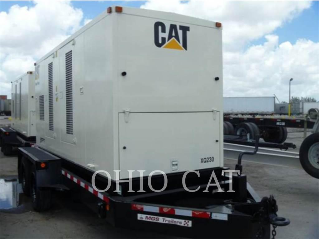 Caterpillar XQ230, Stacjonarne Zestawy Generatorów, Sprzęt budowlany