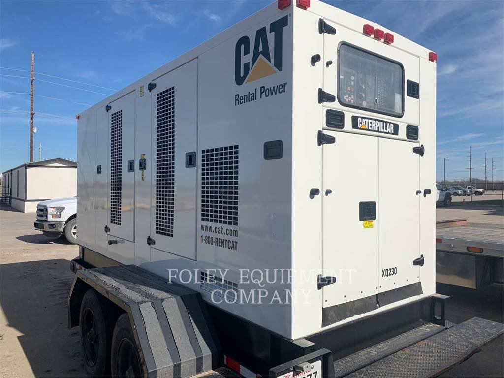 Caterpillar XQ230, mobile generator sets, Construction