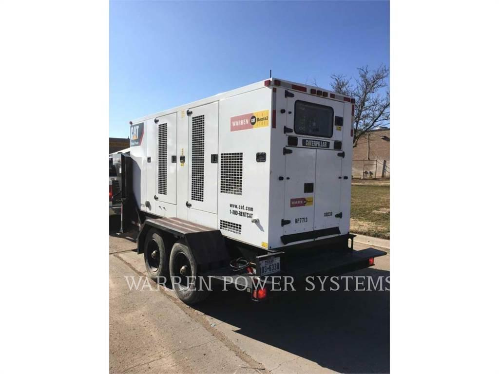 Caterpillar XQ230 RF、租赁发电机组、建筑设备