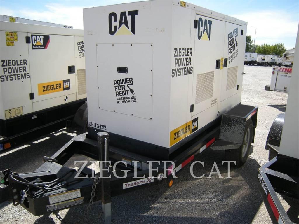 Caterpillar XQ30, Stationary Generator Sets, Construction