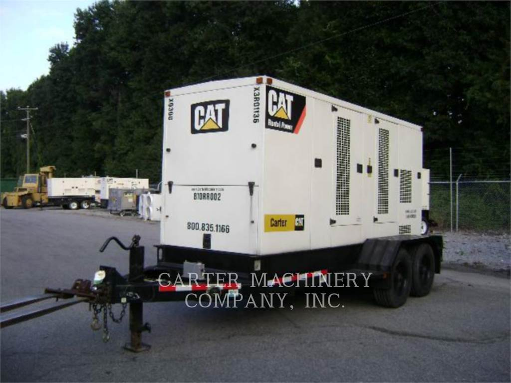 Caterpillar XQ300, Stationary Generator Sets, Construction