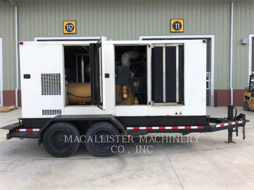 Caterpillar XQ300, Stationary Generator Sets, Construction
