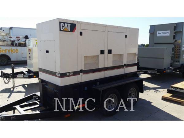 Caterpillar XQ30P4、固定式発電機セット、建設