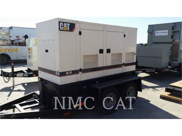 Caterpillar XQ30P4, Stationary Generator Sets, Construction