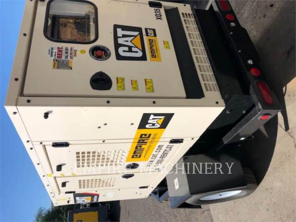 Caterpillar XQ35, Stationary Generator Sets, Construction