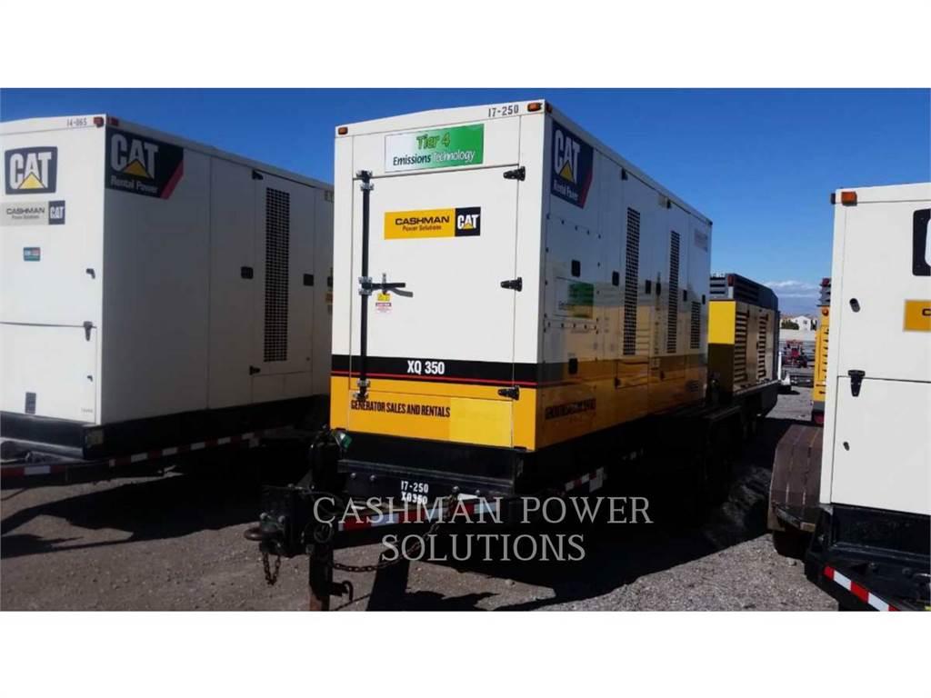 Caterpillar XQ350, grupos electrógenos móviles, Construcción