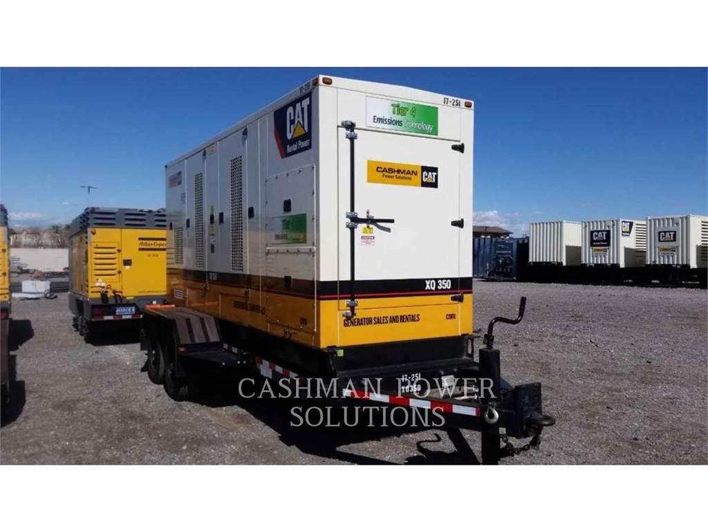 Caterpillar XQ350、移動式発電装置、建設