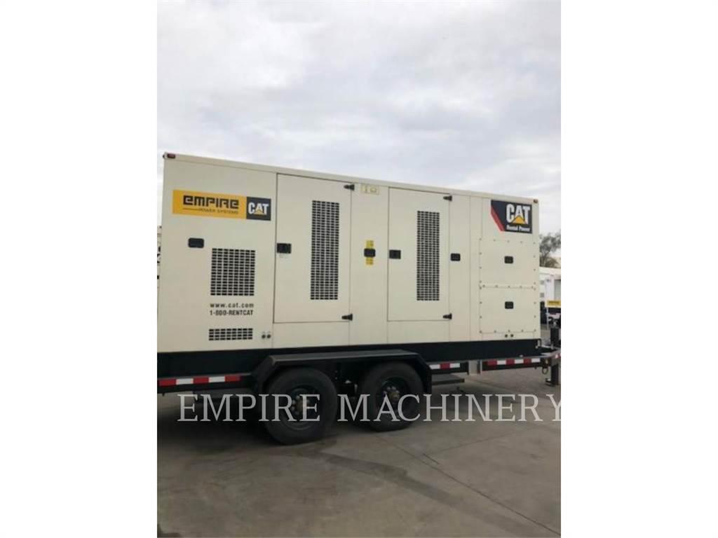 Caterpillar XQ350, Stationary Generator Sets, Construction