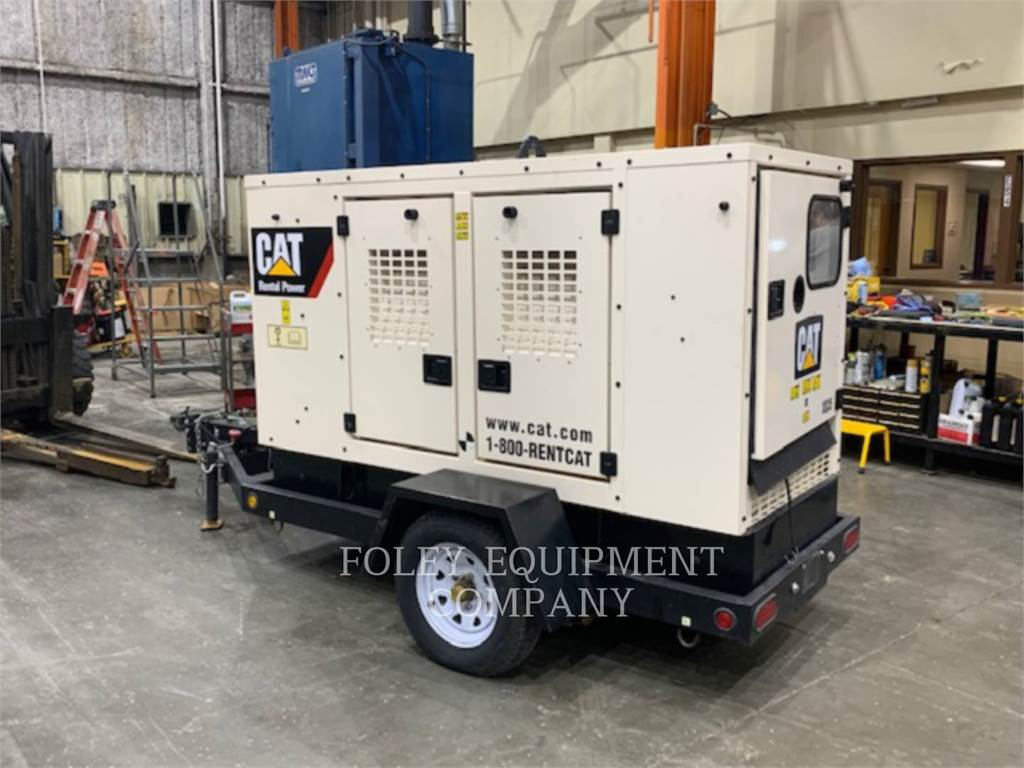 Caterpillar XQ35KVA, mobile generator sets, Construction