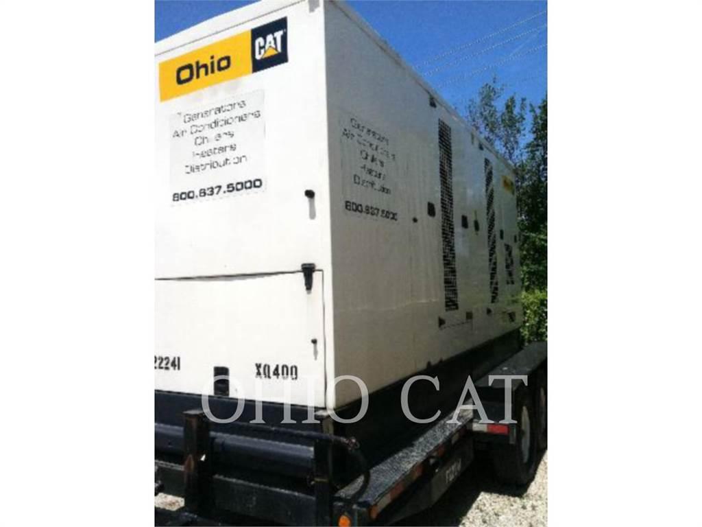 Caterpillar XQ400、固定式発電機セット、建設