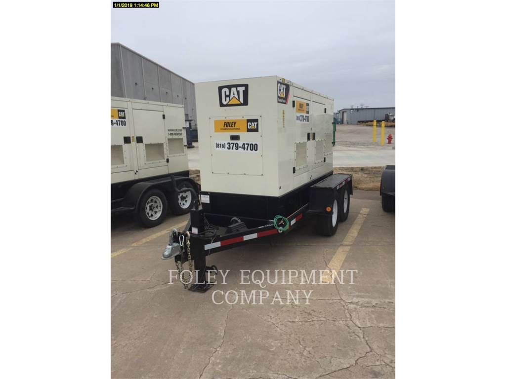 Caterpillar XQ45, mobile generator sets, Construction