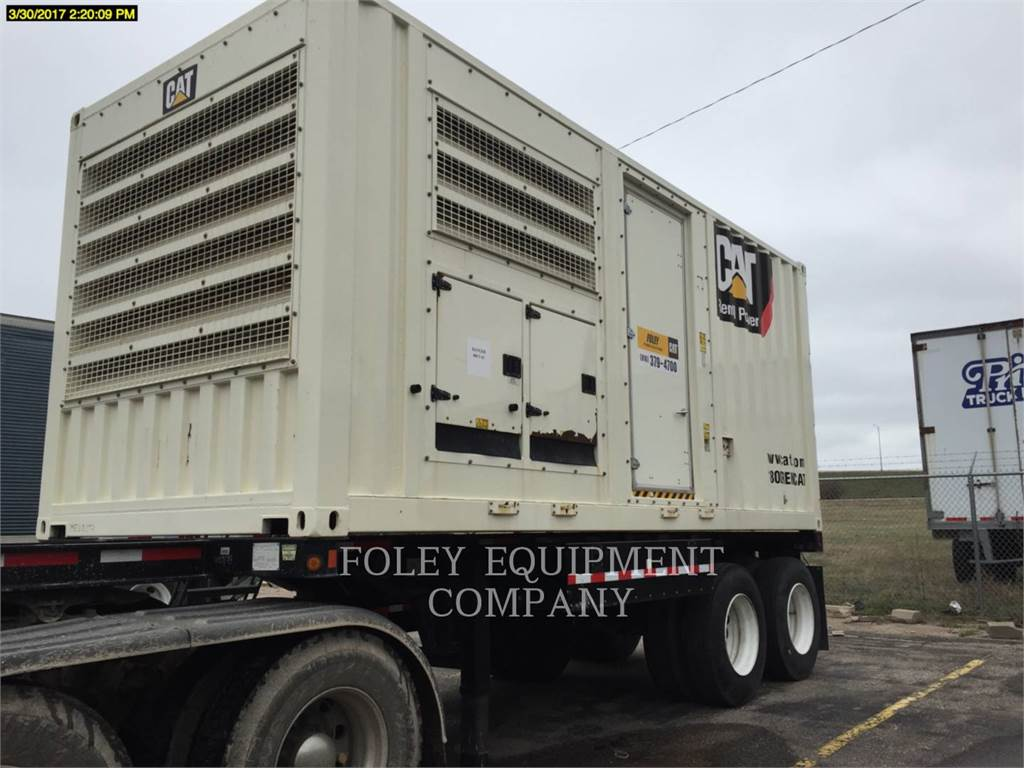 Caterpillar XQ500, Stationary Generator Sets, Construction