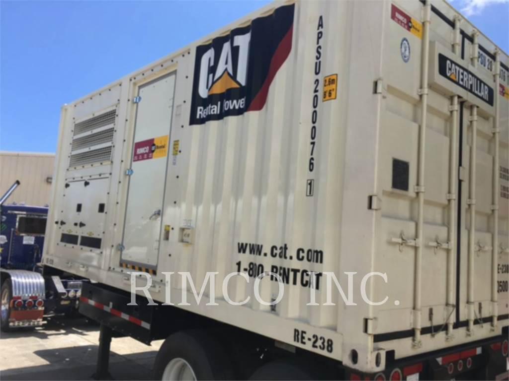 Caterpillar XQ500, transportable stromaggregate, Bau-Und Bergbauausrüstung