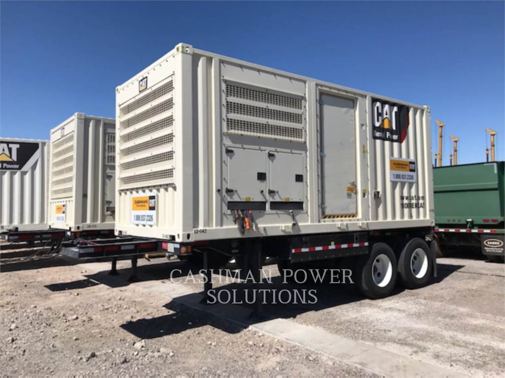 Caterpillar XQ500, mobile generator sets, Construction