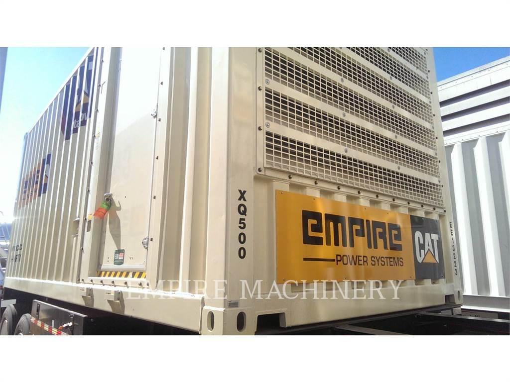 Caterpillar XQ500, стационарные генераторные установки, Строительное