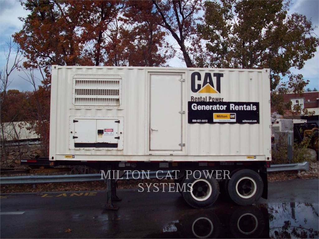 Caterpillar XQ500T4I, mobile generator sets, Construction