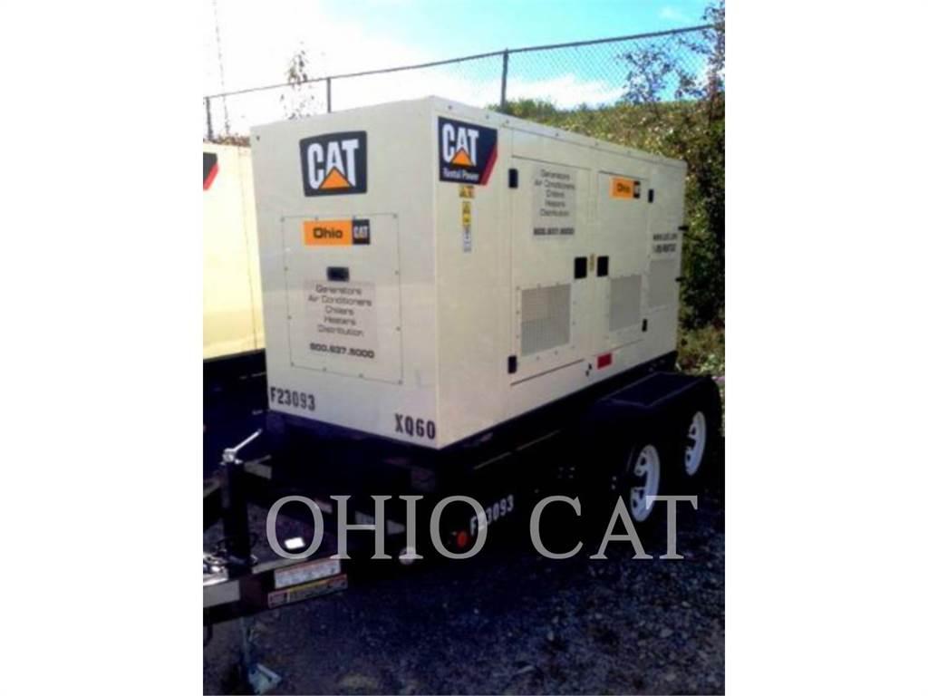 Caterpillar XQ60、固定式発電機セット、建設