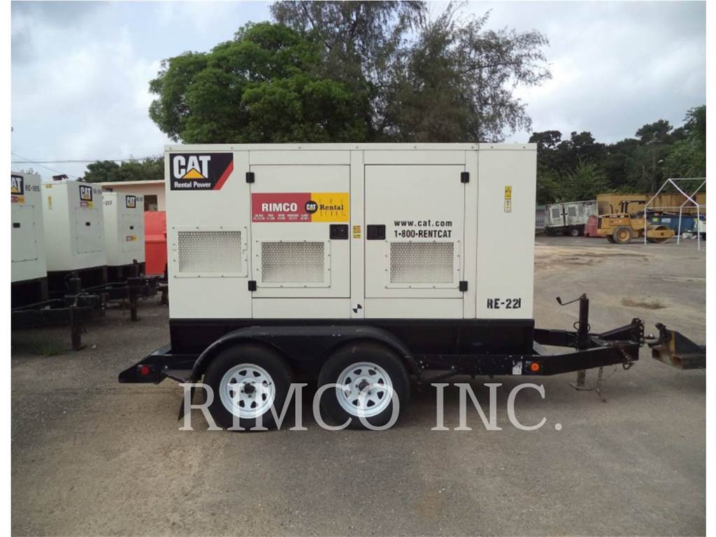 Caterpillar XQ60-6, transportable stromaggregate, Bau-Und Bergbauausrüstung